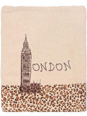 Полотенце, серия Лондон, 70*130 Dorothy's Нome. Цвет: бежевый