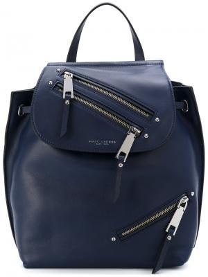 Рюкзак Zip Pack Marc Jacobs. Цвет: синий