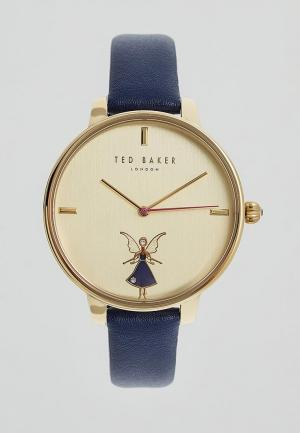 Часы Ted Baker London. Цвет: синий