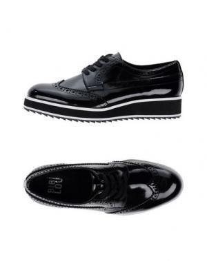 Обувь на шнурках BIBI LOU. Цвет: черный