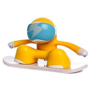 Игрушка  Snowboarder Yellow Chuckbuddies. Цвет: желтый