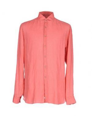 Pубашка ALESSANDRO GHERARDI. Цвет: коралловый