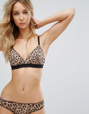 Stella McCartney Lingerie Бюстгальтер Florence. Цвет: коричневый