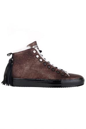 Ботинки Barracuda. Цвет: коричневый