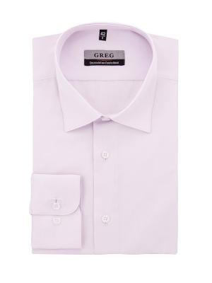 Рубашки GREG. Цвет: сиреневый