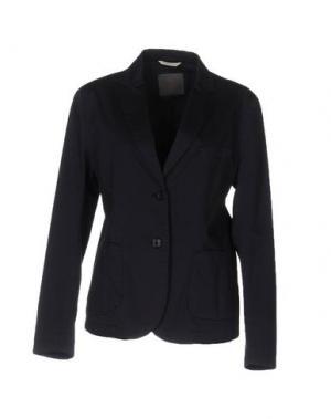 Пиджак 19.70 NINETEEN SEVENTY. Цвет: темно-синий