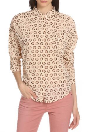Рубашка Scotch&Soda. Цвет: ecru, экрю