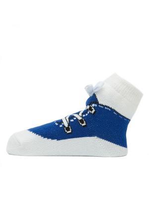 Носочки Синие кеды Pretty Fashion Baby. Цвет: синий
