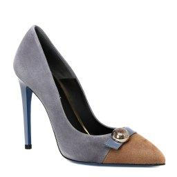Туфли  MS1032MC серо-голубой LORIBLU