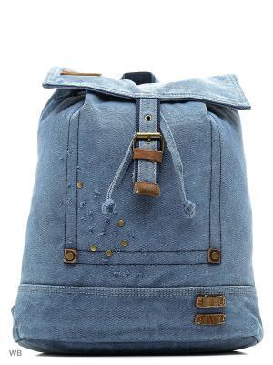 Рюкзак LEE COOPER. Цвет: синий