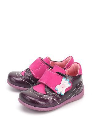 Ботинки Castler. Цвет: фиолетовый