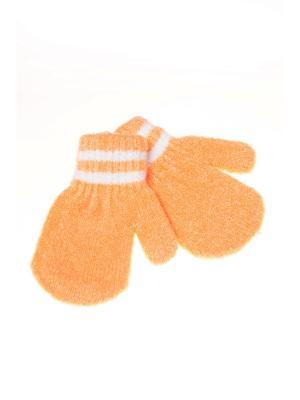 Варежки Shapkoff. Цвет: оранжевый
