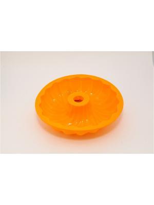 Форма силиконовая 25.4x6см, Каравай. Vetta. Цвет: желтый