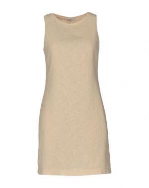 Короткое платье CHARLOTT. Цвет: бежевый