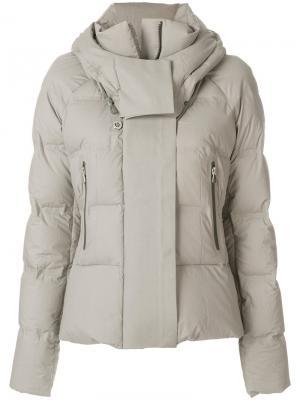 Дутая куртка Peuterey. Цвет: серый