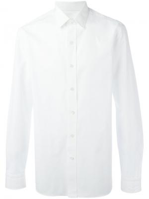 Классическая рубашка Salvatore Piccolo. Цвет: белый