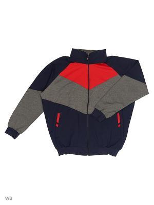 Костюм IFC. Цвет: темно-синий, серый, красный