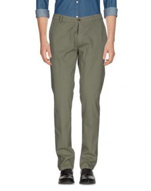 Повседневные брюки YAN SIMMON. Цвет: зеленый-милитари