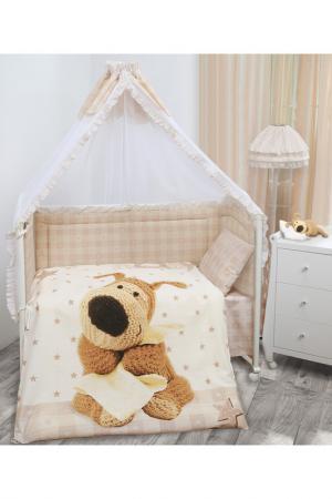 Комплект в кроватку детский Boofle. Цвет: мультицвет