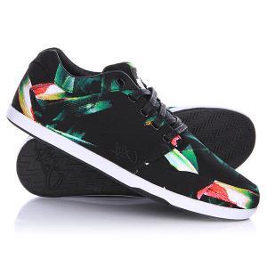 Кеды кроссовки низкие  Lp Low Tropical K1X. Цвет: черный,зеленый