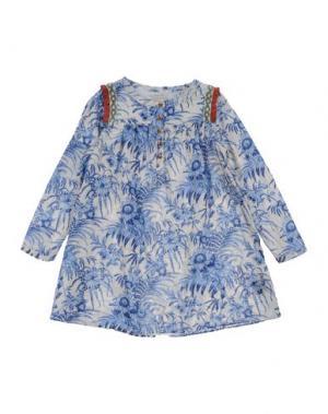 Платье SCOTCH R'BELLE. Цвет: синий
