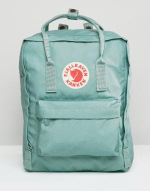Fjallraven Голубой рюкзак Kanken. Цвет: синий
