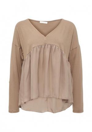 Блуза Coco Nut. Цвет: бежевый