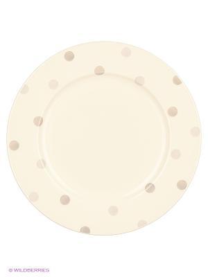 Блюдо круглое 30см Модди Quality Ceramic. Цвет: белый