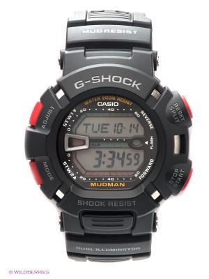 Часы G-SHOCK G-9000-1V CASIO. Цвет: черный