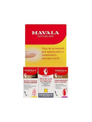 Средство для быстрого роста ногтей Мавадерма/Mavaderma 10ml Mavala. Цвет: прозрачный