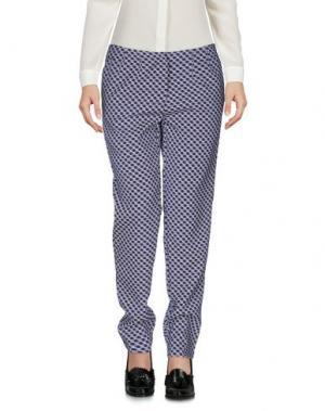 Повседневные брюки GAZEL. Цвет: синий