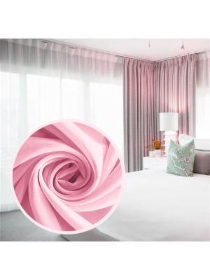 Вуаль Amore Mio однотонная  300*270 см - 1 шт. Розовый. Цвет: розовый