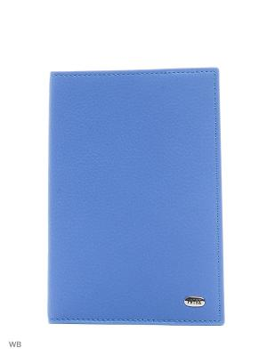 Обложка на паспорт Petek. Цвет: светло-голубой, серебристый