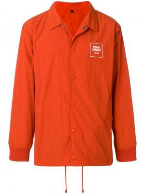 Куртка с косым воротником Opening Ceremony. Цвет: жёлтый и оранжевый