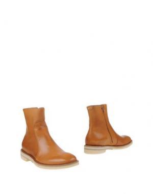 Полусапоги и высокие ботинки MAISON MARGIELA 22. Цвет: желто-коричневый