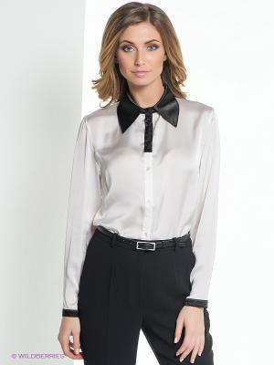 Блузка ELENA FEDEL. Цвет: белый, черный