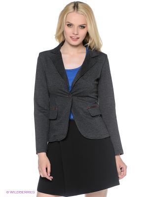 Пиджак Fullah Sugah. Цвет: темно-серый