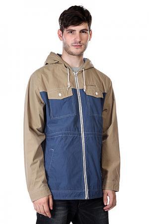 Куртка  Venturi Jkt Ink/Dark Khaki Analog. Цвет: бежевый,синий