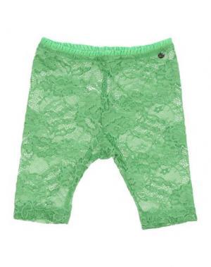 Легинсы MICROBE. Цвет: зеленый