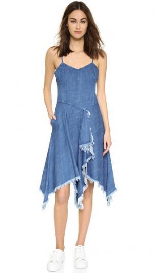 Платье Audree Elle Sasson. Цвет: светло-голубой