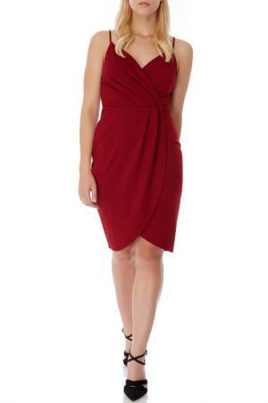 Платье Mela london. Цвет: красный