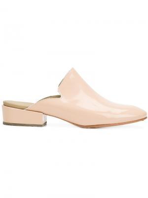 Мюли на низком каблуке Rachel Comey. Цвет: телесный