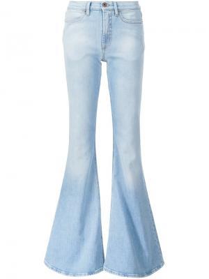 Слегка-расклешенные джинсы Off-White. Цвет: синий