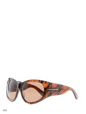 Солнцезащитные очки FT 0404 48B Tom Ford. Цвет: серый