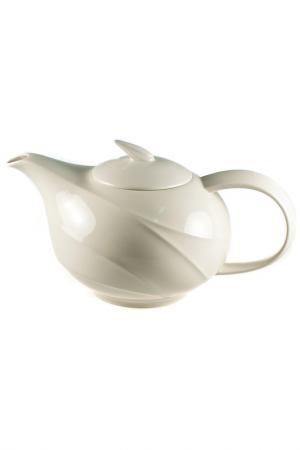 Чайник, 1000 мл Quality Cermaic. Цвет: бежевый
