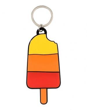 Брелок для ключей YAZBUKEY. Цвет: оранжевый