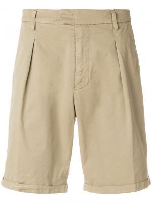Designer tailored shorts Dondup. Цвет: телесный