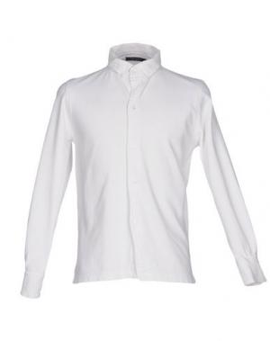 Pубашка CLARK JEANS. Цвет: слоновая кость