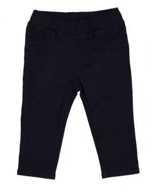 Повседневные брюки MONNALISA BEBE'. Цвет: синий
