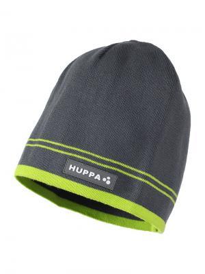 Вязаная шапка TOM HUPPA. Цвет: серый